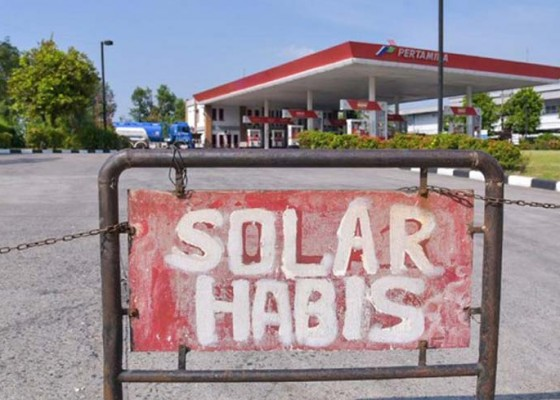 Nusabali.com - solar-langka-di-beberapa-daerah