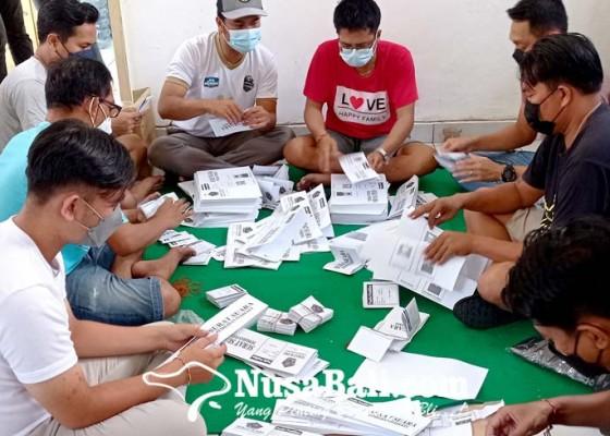 Nusabali.com - panitia-mulai-lipat-surat-suara