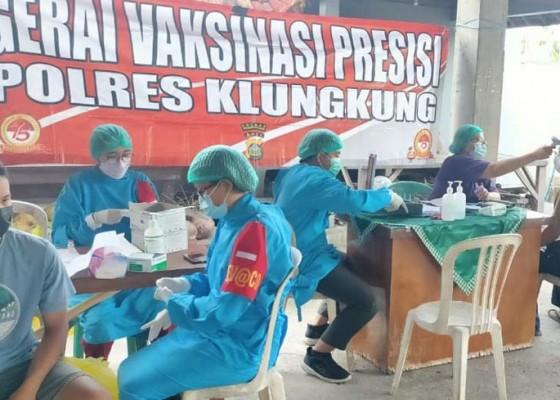 Nusabali.com - diskes-klungkung-klaim-vaksinasi-dosis-i-capai-9662-persen