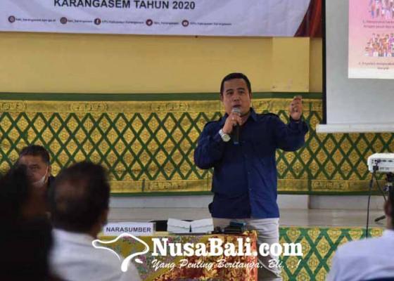 Nusabali.com - songsong-pemilu-2024-kpu-dorong-mantan-perbekel-masuk-caleg