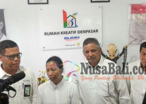 Nusabali.com - menteri-bumn-resmikan-rumah-kreatif-denpasar