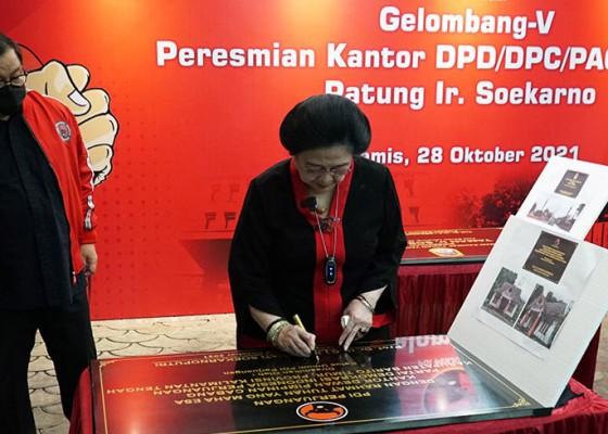 Nusabali.com - belasan-kantor-pdip-diresmikan-serentak-bukti-solid-jelang-pemilu-2024