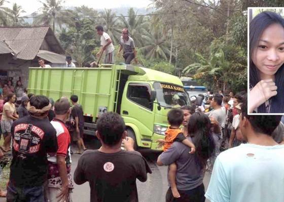 Nusabali.com - mahasiswi-tewas-terseret-truk