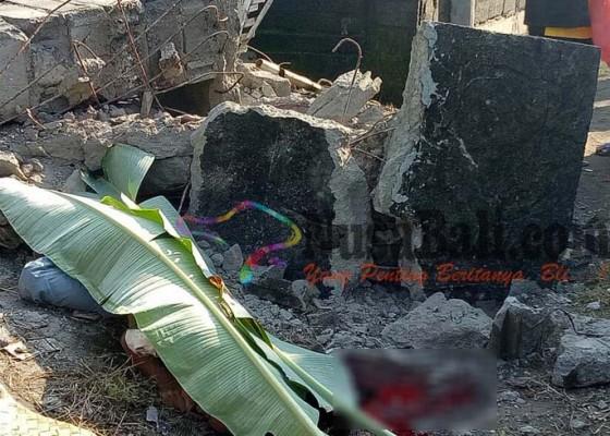 Nusabali.com - tertimpa-beton-buruh-tewas