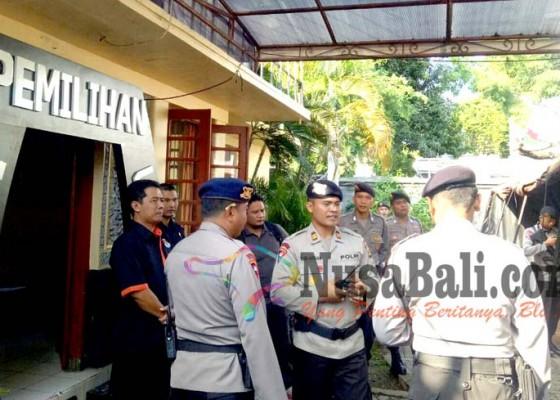 Nusabali.com - pengamanan-di-kantor-dan-gudang-kpu-dipertebal