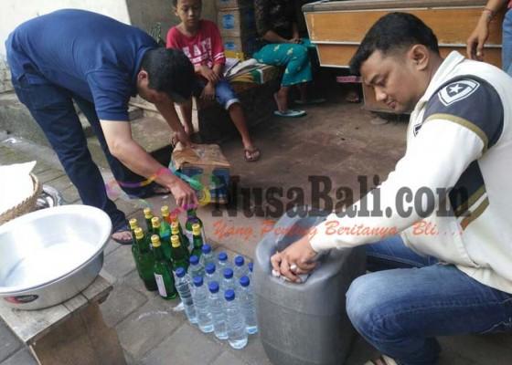 Nusabali.com - jelang-nyepi-polisi-amankan-miras-ilegal