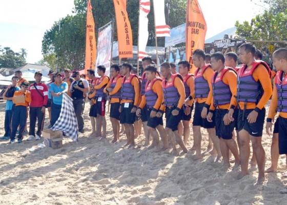 Nusabali.com - basarnas-bali-gelar-bima-rescue-fitness-drill