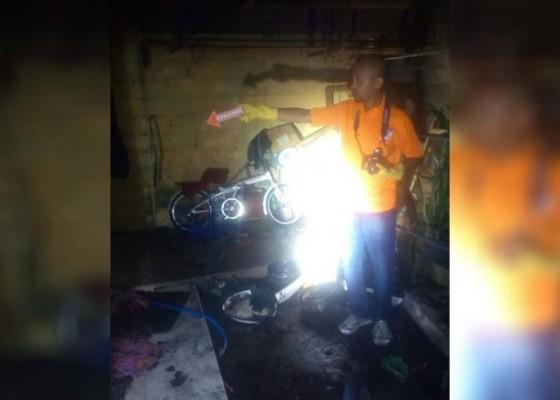 Nusabali.com - diduga-lupa-matikan-kompor-dapur-terbakar