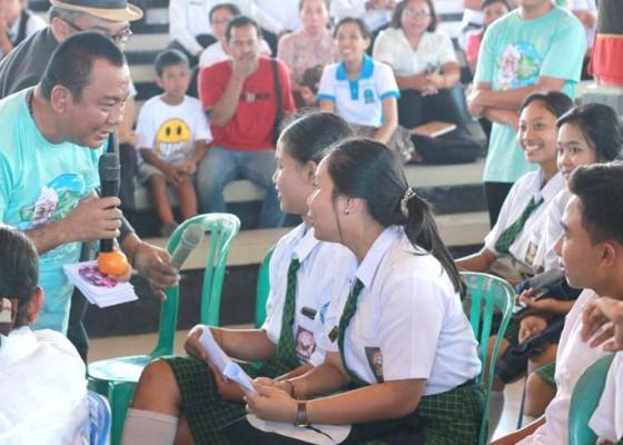 Nusabali.com - praktisi-pendidikan-anak-menyambangi-klungkung