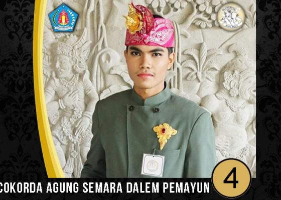 Nusabali.com - jegeg-bagus-klungkung-2017-cokorda-agung-semara-dalem-pemayun