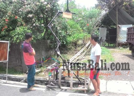 Nusabali.com - ogoh-ogoh-pemuda-penatahan-kaja-diduga-dibakar