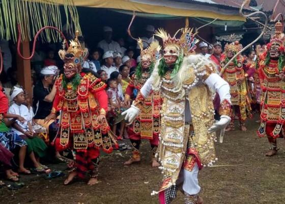 Nusabali.com - krama-tejakula-pentaskan-wayang-wong-sakral