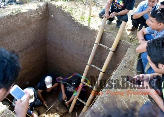Nusabali.com - penggalian-situs-di-desa-getasan-dilanjutkan