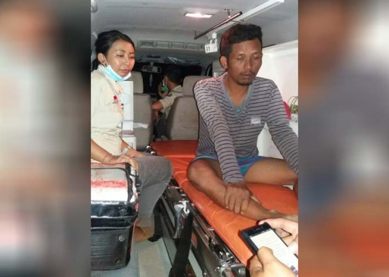Nusabali.com - terseret-arus-usai-mancing-1-hilang-2-korban-selamat