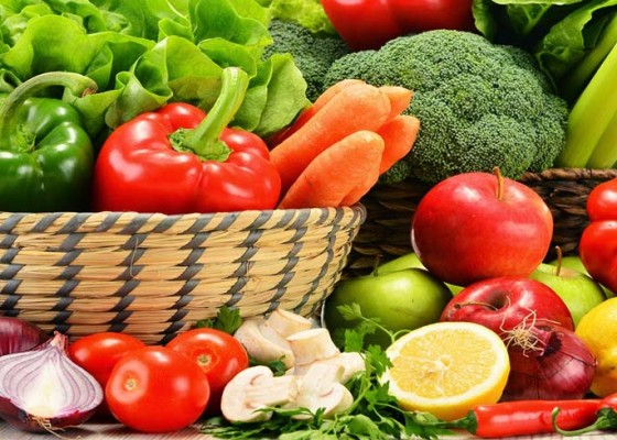 Nusabali.com - kesehatan-sayur-dan-buah-minimal-lima-porsi