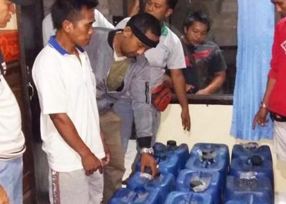 Nusabali.com - 490-liter-arak-ilegal-diamankan