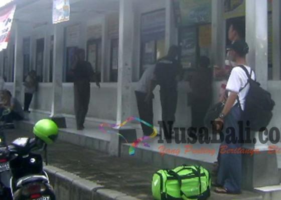 Nusabali.com - pemesanan-tiket-bus-mudik-masih-sepi