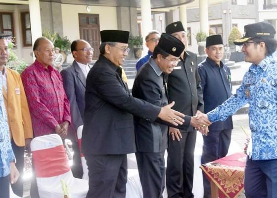 Nusabali.com - upacara-hari-lahir-pancasila-di-badung