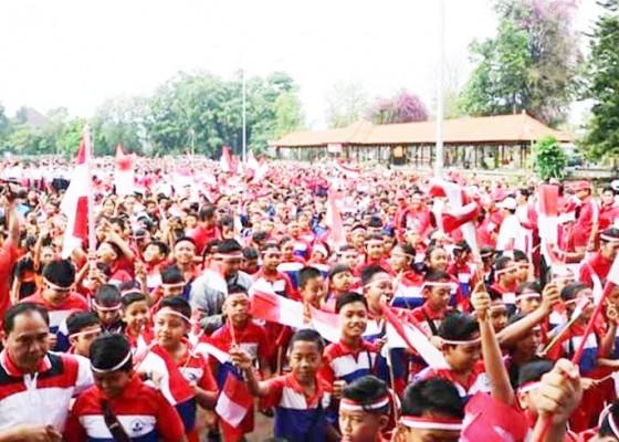 Nusabali.com - gerak-jalan-santai-bernuansa-pancasila