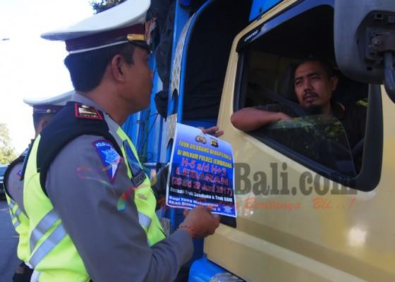 Nusabali.com - truk-dilarang-beroperasi-h-5-hingga-h3-lebaran