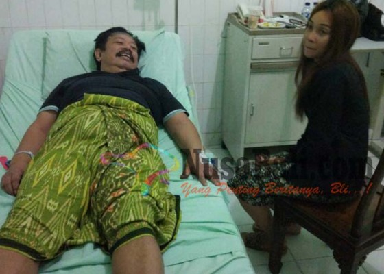 Nusabali.com - masuk-rs-winasa-dirawat-istri-mudanya