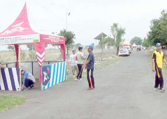Nusabali.com - polisi-bangun-21-pos-pantau-mudik-lebaran