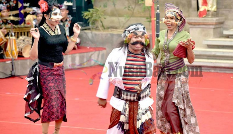www.nusabali.com-bondres-gianyar-angkat-ngepung-dolar