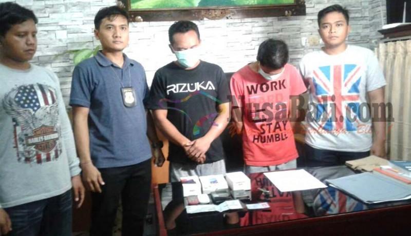 www.nusabali.com-polisi-tangkap-pencuri-dan-penadah-hp