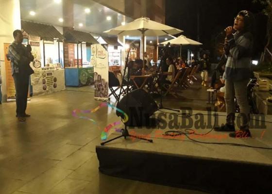Nusabali.com - foodfest-diiringi-live-performance-penyanyi-cilik-di-plaza-renon