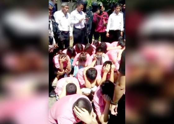 Nusabali.com - breaking-news-evakuasi-wna-cina-ke-bandara-ngurah-rai