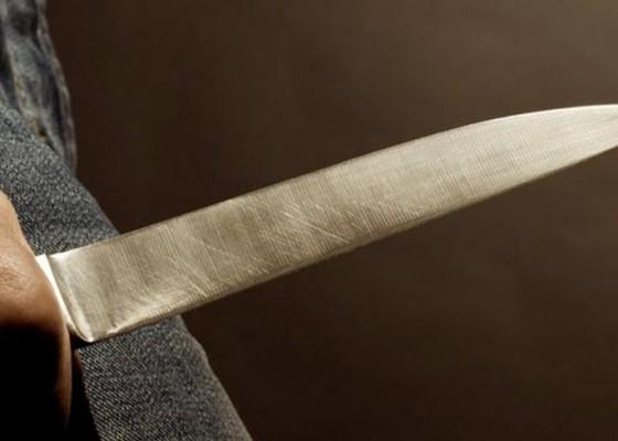 Nusabali.com - ancam-kasek-sd-dengan-pisau-diamankan