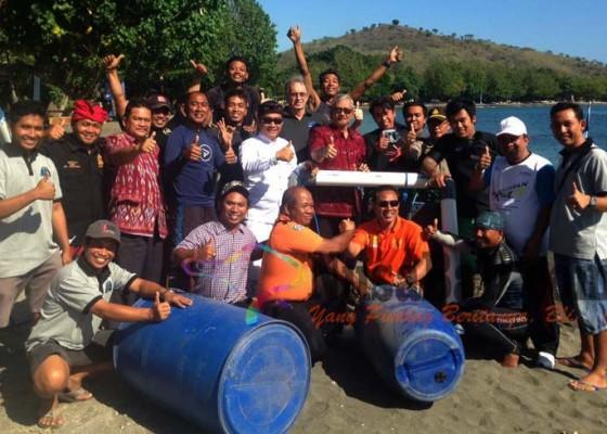 Nusabali.com - pemuteran-pasang-10-pengaman-di-laut