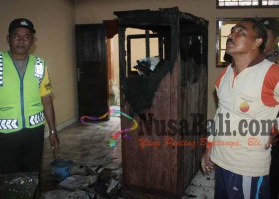 Nusabali.com - gedung-sd-terbakar-proses-belajar-normal