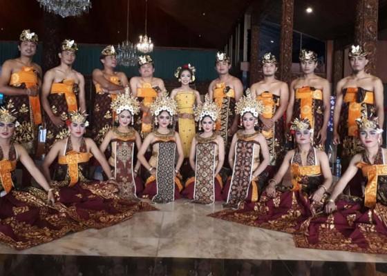Nusabali.com - bali-borong-gelar-lewat-tari-patemon-teruna-daha