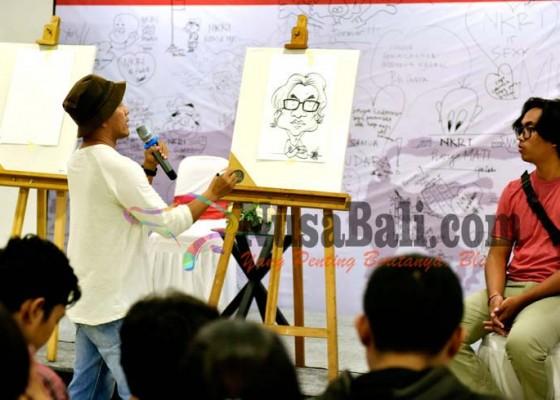 Nusabali.com - kartunis-semakin-sedikit-pakarti-gelar-workhshop-kartun
