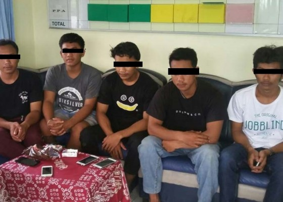 Nusabali.com - lima-pemuda-terancam-bui-5-tahun