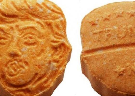 Nusabali.com - ekstasi-berbentuk-wajah-trump-disita