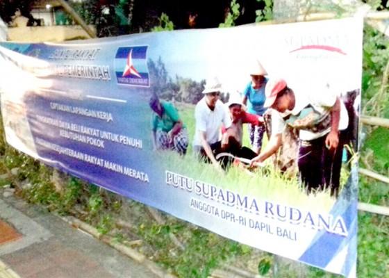Nusabali.com - hut-demokrat-supadma-rudana-terjun-temui-petani