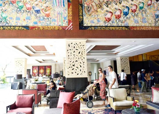 Nusabali.com - sembilan-lukisan-gunarsa-hiasi-trans-resort