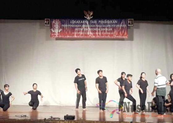Nusabali.com - prodi-pendidikan-sendratasik-isi-denpasar-gelar-lokakarya-tari-pendidikan