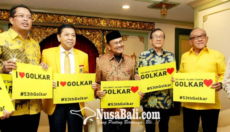 www.nusabali.com-elite-golkar-pose-bareng