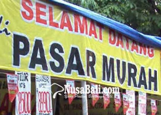 Nusabali.com - jelang-galungan-badung-gelar-pasar-murah