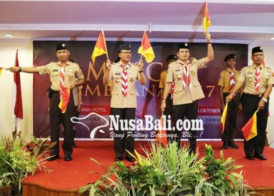 Nusabali.com - wabup-kembang-kembali-ketuai-pramuka-jembrana