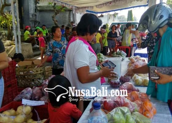 Nusabali.com - tpid-gelar-pasar-murah-jelang-galungan