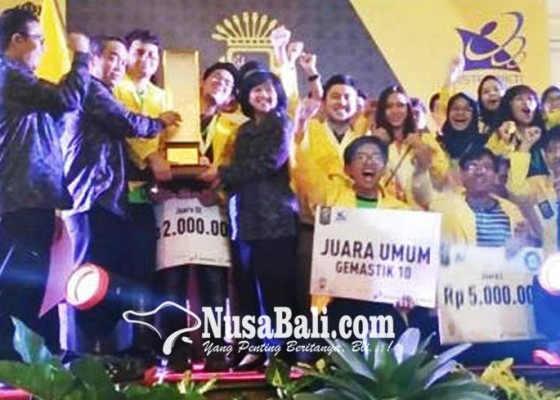 Nusabali.com - diikuti-36-pt-se-indonesia-ui-jawara-gemastik-2017
