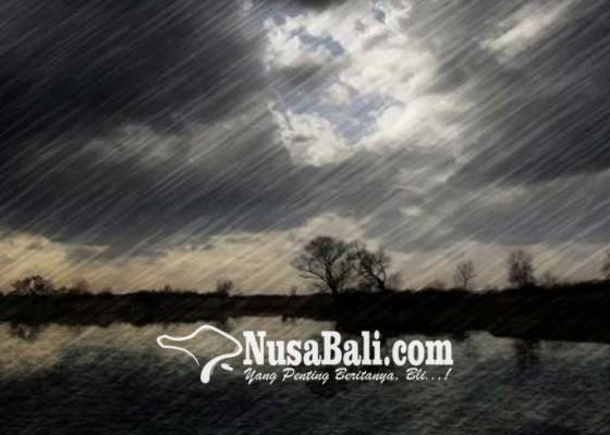Nusabali.com - hujan-guyur-sebagian-besar-wilayah-bali