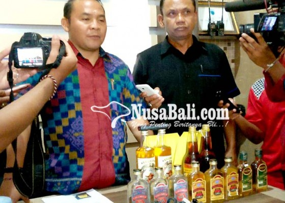 Nusabali.com - ratusan-liter-arak-diamankan