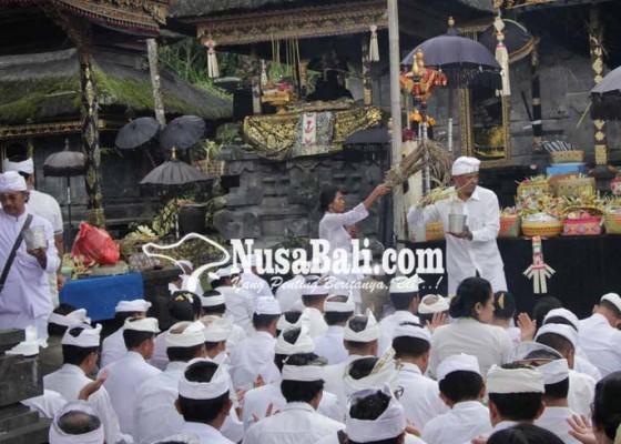 Nusabali.com - pujawali-pura-batumadeg-besakih-nyejer-hanya-sehari