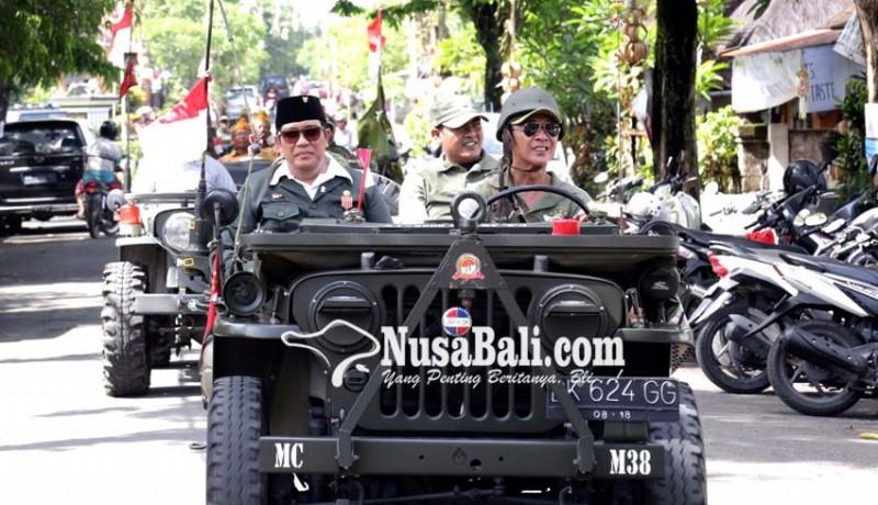 www.nusabali.com-wabub-sanjaya-ajak-veteran-konvoi