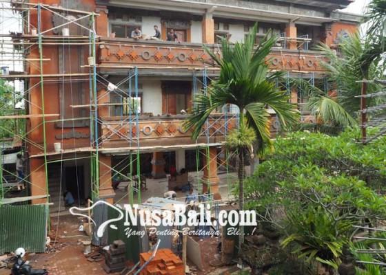 Nusabali.com - proyek-gedung-dprd-kena-pinalti